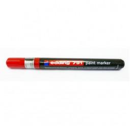Маркер Paint e-791 1-2 мм круглый красный