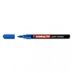 Маркер Paint e-791 1-2 мм круглый синий