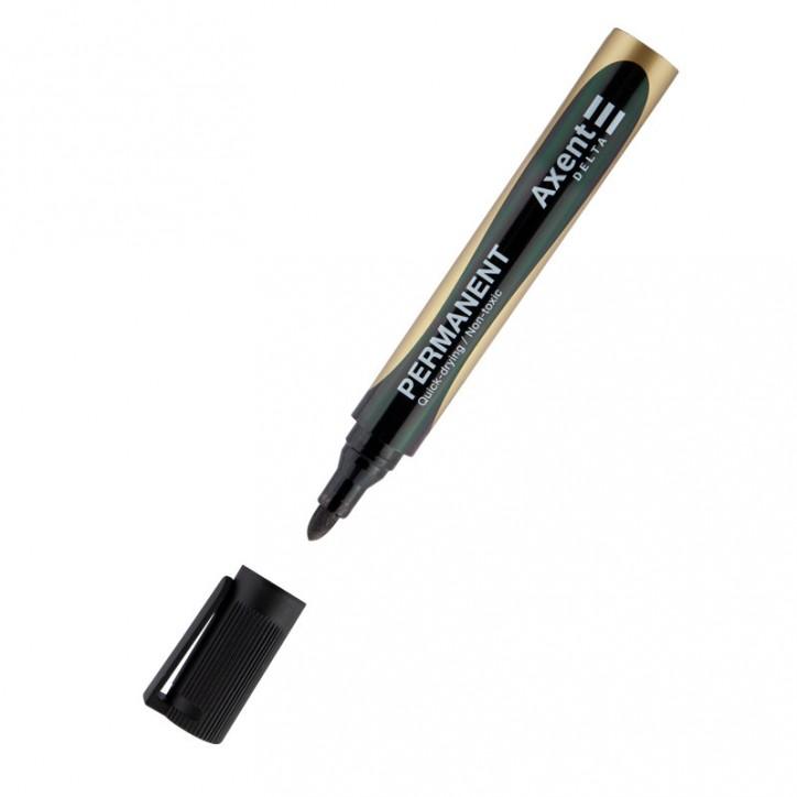 Маркер Permanent D2603, 2 мм круглый черный