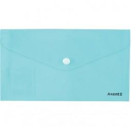 Папка-конверт на кнопке, DL, Pastelini, неомята