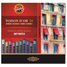 Пастель TOISON D'OR, 24 цв.