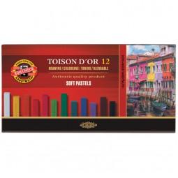 Пастель сухая TOISON D'OR, 12 цветов