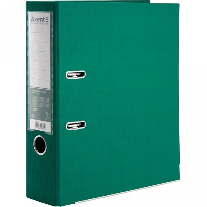 Регистратор двуст, Prestige+ 7,5cм, собр, зеленый