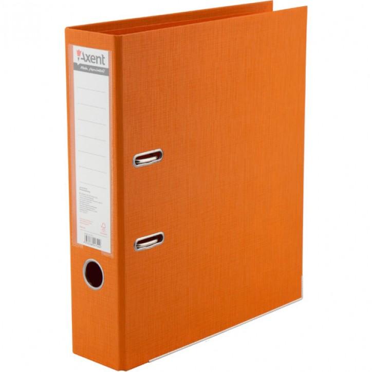 Регистратор двуст, Prestige+ 7,5cм, собр, оранж