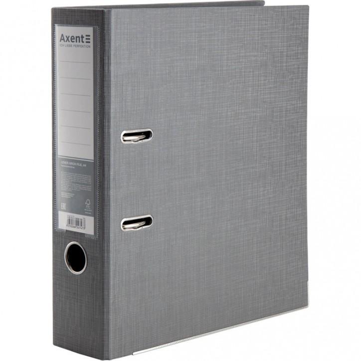 Регистратор двуст, Prestige+ 7,5cм, собр, серебр