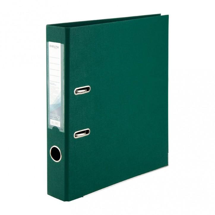 Регистратор двустор. 5 cм, разобр, темно-зелен