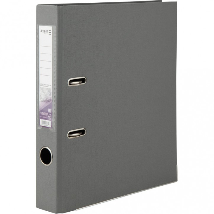 Регистратор двустор. 5 cм, собр, серый