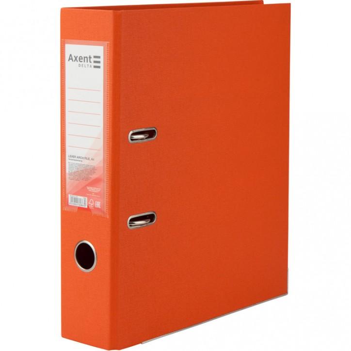 Регистратор двустор. 7,5 cм, разобр, оранж