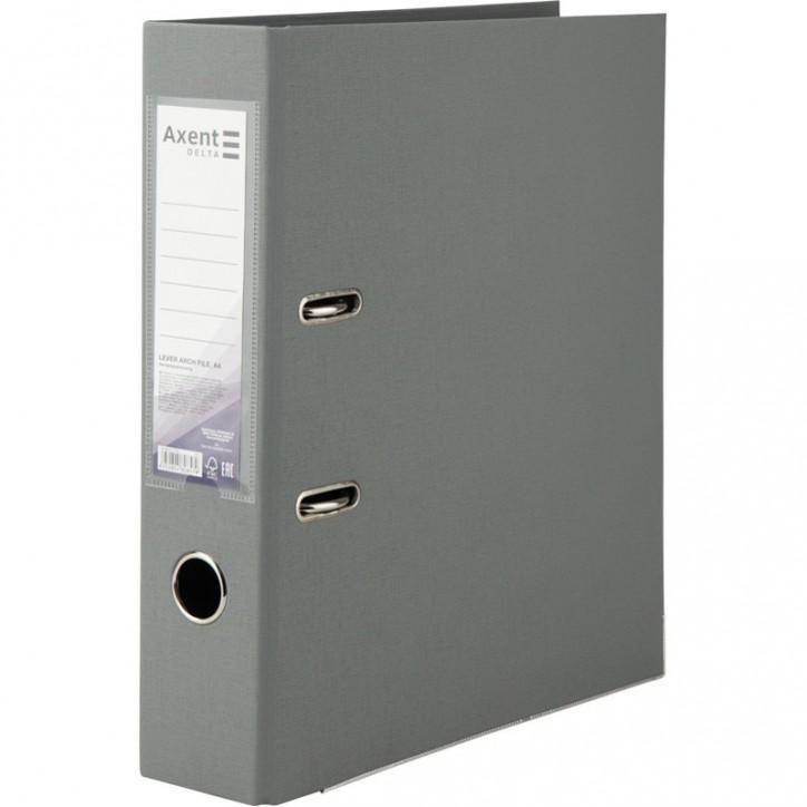 Регистратор двустор. 7,5 cм, разобр, серый