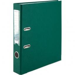 Регистратор одностор. 5 cм, собр, темно-зелен