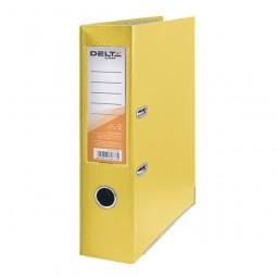 Регистратор одностор. 7,5 cм, собр, желт