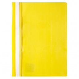 Скоросшиватель, А4, желтый