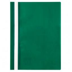Скоросшиватель, А4, зеленый