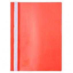 Скоросшиватель, А4, красный