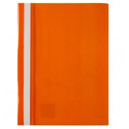 Скоросшиватель, А4, оранжевый