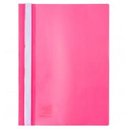 Скоросшиватель, А4, розовый
