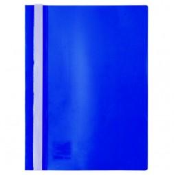 Скоросшиватель, А4, синий