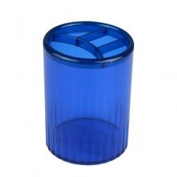 Стакан-подставка на 4 отделения, синий