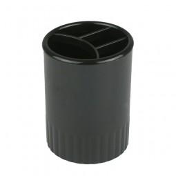 Стакан-подставка на 4 отделения, черный