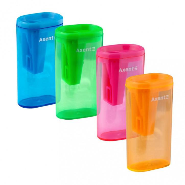 Точилка с контейнером Lighter, ассорти цветов