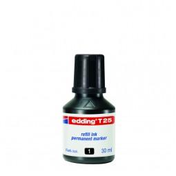 Чорнило для заправки Permanent e-T25 чёрные