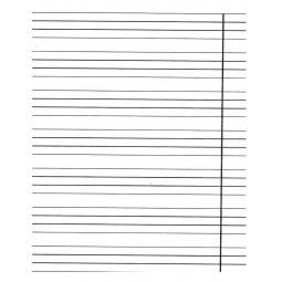 Тетрадь для слабовидящих 12 листов, косая линия