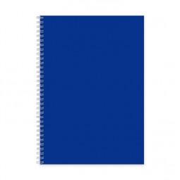 Блокнот для заметок, бок. пружина, А7, 50 л., офсет, пласт. обл.