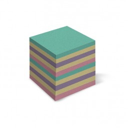 Бумага для заметок цветная «Mix», 900 л., не клееная, 90 * 90 мм