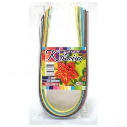Набор для квиллинга №2, 10 цветов, 100 полосок 3 мм х 420 мм