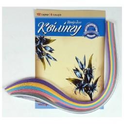 Набор для квиллинга на планшете «Романтика», 6 цветов, 100 полосок 5 мм х 420мм