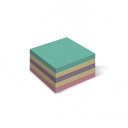 Бумага для заметок цветная «Mix», 400 л., клееная, 85 * 85 мм