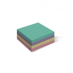 Бумага для заметок цветная «Mix», 300 л., не клееная, 85 * 85 мм