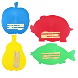 Доска пластилина фигурная + 3 стека для лепки
