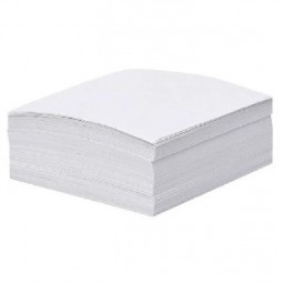 Бумага для заметок белая, 300 л., не клееная, 85 * 85 мм