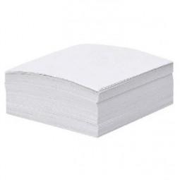 Бумага для заметок белая, 400 л., клееная, 85 * 85 мм