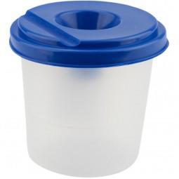 Стакан-непроливайка, синий