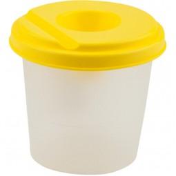 Стакан-непроливайка, желтый
