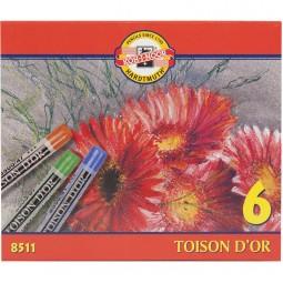 Пастель TOISON D'OR,   6 цв.