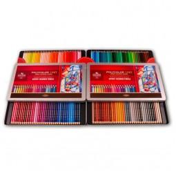 Художественные цветные карандаши POLYCOLOR, 144 цв. мет.уп.