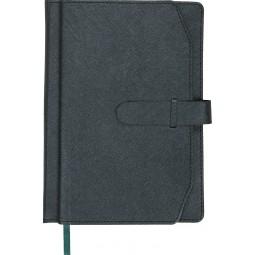 Ежедневник недатированный CREDO, A5, серый
