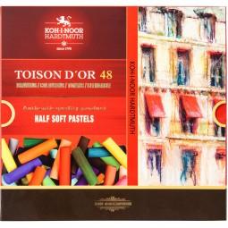 Пастель сухая TOISON D'OR, 1/2, 48 цв.