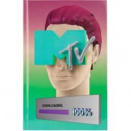 Книга записная твердая обл. А6, 80 л. кл MTV-2