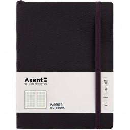 Книга записная. Partner Soft L, 190*250,, 96л, кл, черная