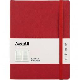 Книга записная. Partner Soft L, 190*250,, 96л, кл, красная