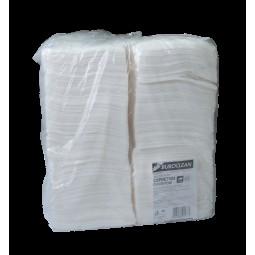 Салфетки бумажные, 240*240 мм, 400шт, в пп упаковке, белые