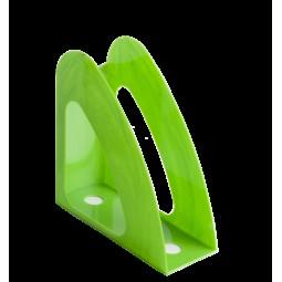 Лоток пластиковый вертикальный РАДУГА, салатовый