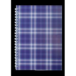 Тетрадь для записей SHOTLANDKA, А5, 48 л., клетка, картонная обложка, фиолетовая