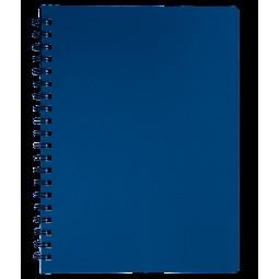Тетрадь для записей STATUS, L2U, А4, 80 л., клетка, марэнго, пласт.обложка