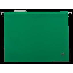 Файл подвесной пластиковый, А4, зеленый