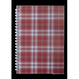 Тетрадь для записей SHOTLANDKA, А5, 48 л., клетка, картонная обложка, бордовая